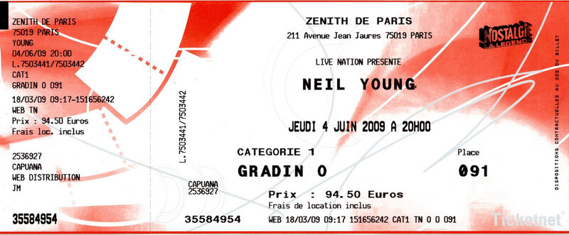 2009 06 Neil Young Billet