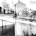 Avesnes sur helpe - le pont rouge