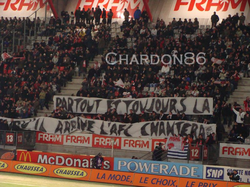Message AFC contre Lyon- 2009