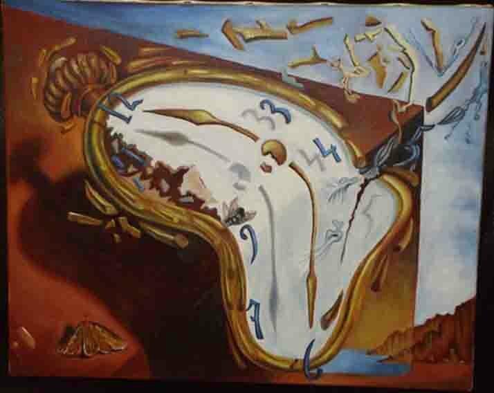 montre molle Dali