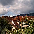 Salins-les-Bains Jura - Ciel qui se couvre
