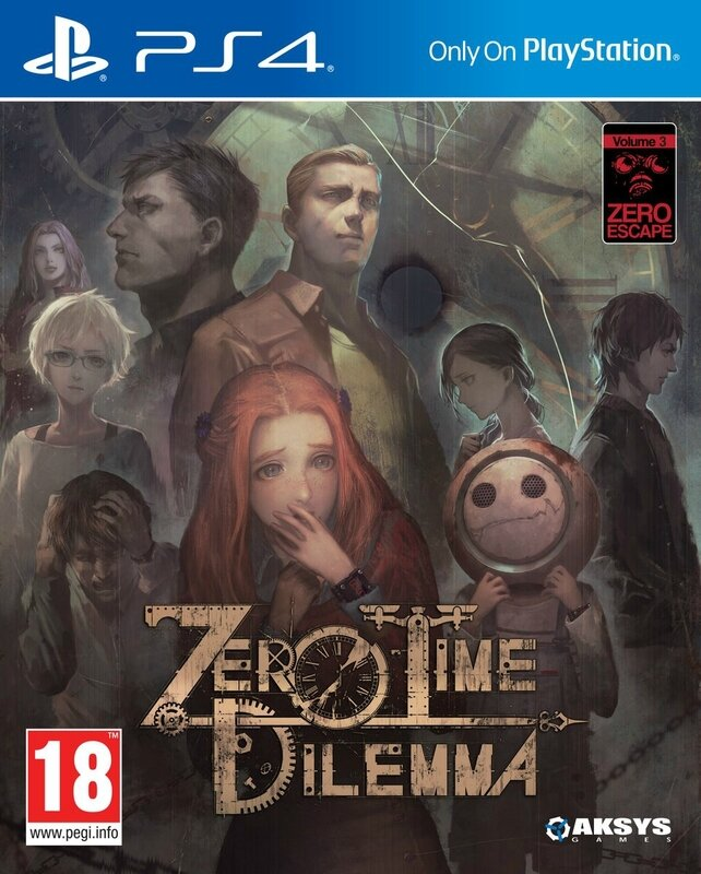 Zero Time Dilemma PS4 EU