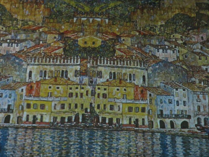 Vue de Malcescine - 1913 Klimt Exposition