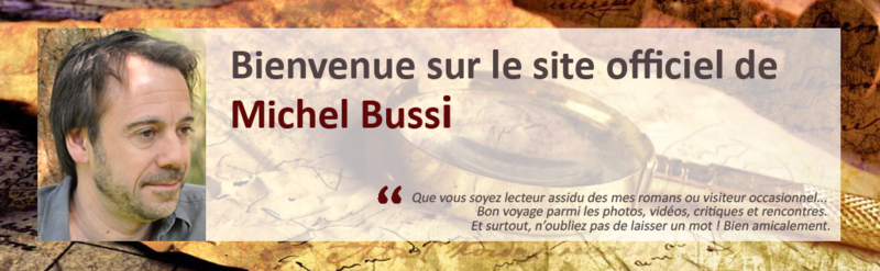 MICHEL BUSSIN - SITE OFFICIEL