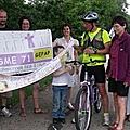 Route asperansa 2011 : l'étape du 16 juillet