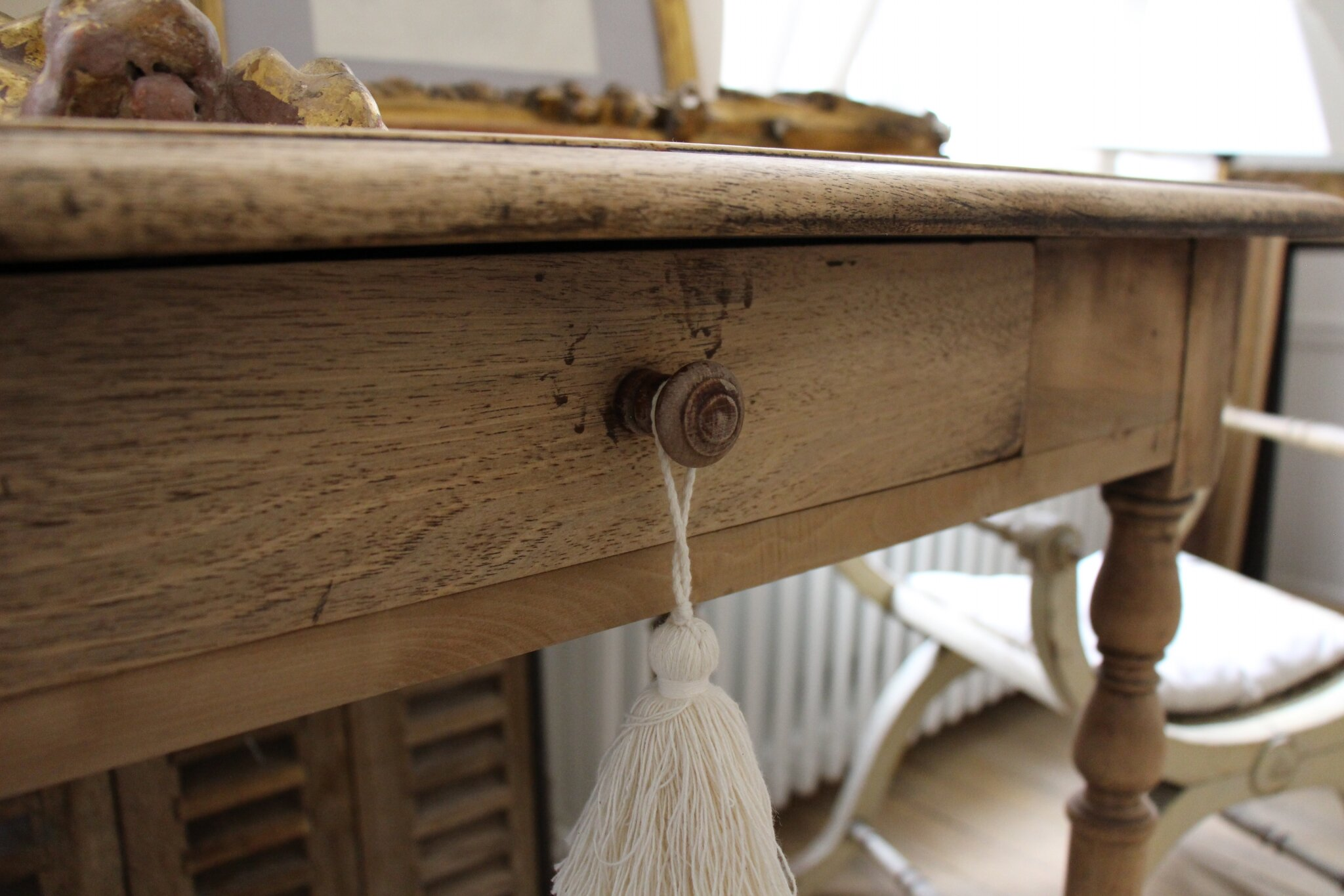 Bureau ancien bois. bureau bois pas cher bureau bois metal bureau