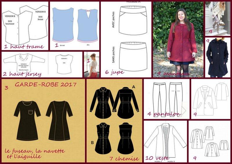 garde-robe 2017 recap
