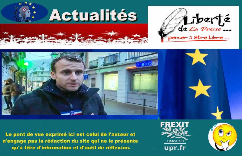 ACT MACRON PRESSE UE