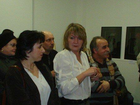 Manuela(peintre) Annick Terwagne(Pastelliste) Giovanni Giambra