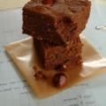 Gâteau choco-praliné, sans blé