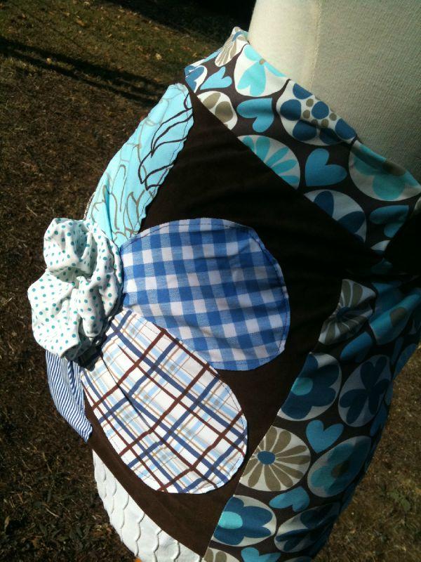 ceinture de grossesse originale avec fleur fantaisie - Photo de ... 038cea48288
