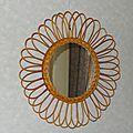 Miroir fleur