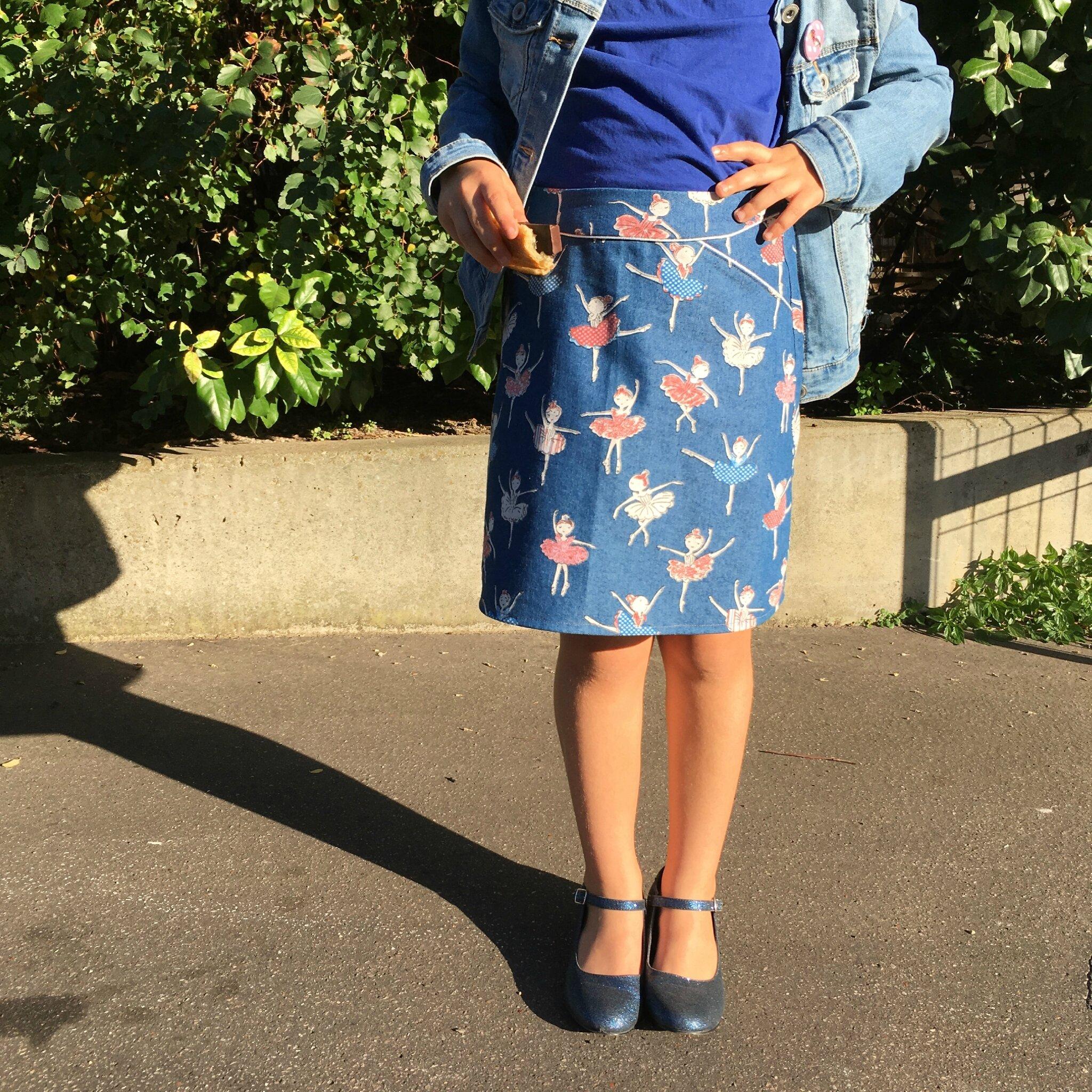 The perfect skirt ♥ {Mini perle inside}