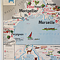 Collection ... affiche région mediterraneenne & corse / massif central
