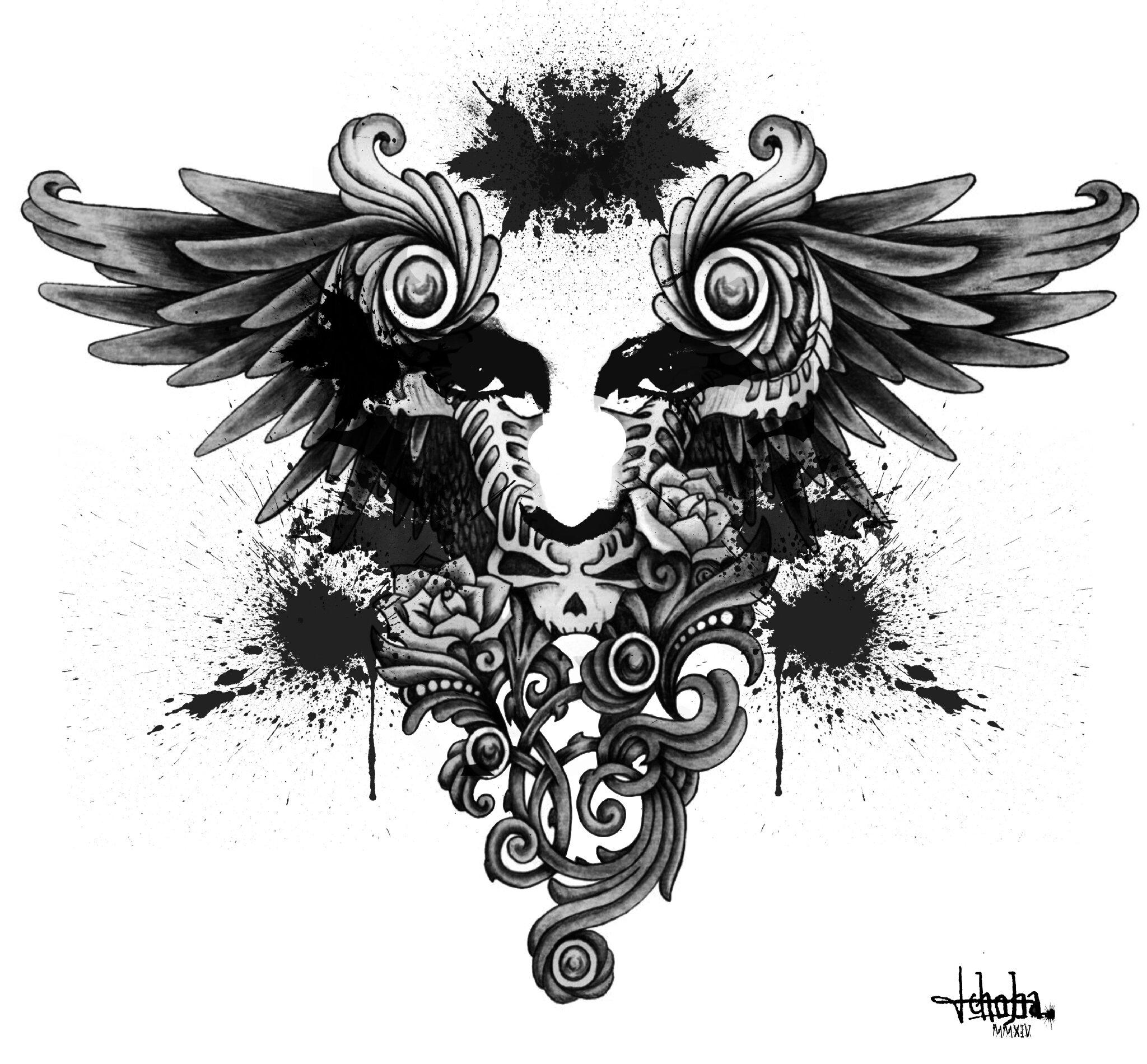 ink black 3