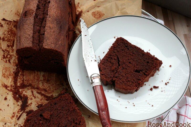 recette de cake au chocolat facile