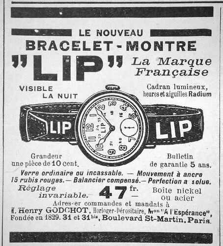 Lip bracelet