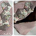 trousse mauve origami