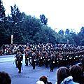 043 Défil-Inter-Alliés Berlin 13-05-1972 GB 1° Bataillon du Queen's Régiment avec Musique et Tambours