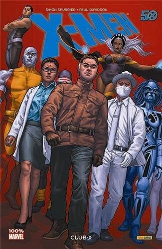 100% marvel x-men club-X