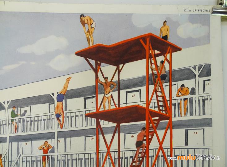 Affiche-A-LA-PISCINE-4-Rossignol-muluBrok-Vintage
