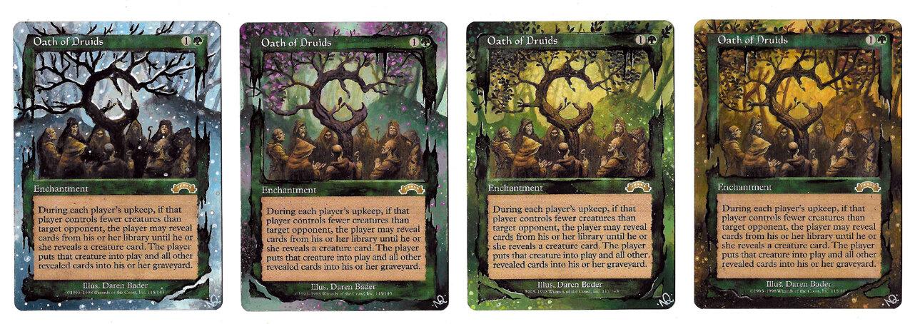 Serments des druides Alteration