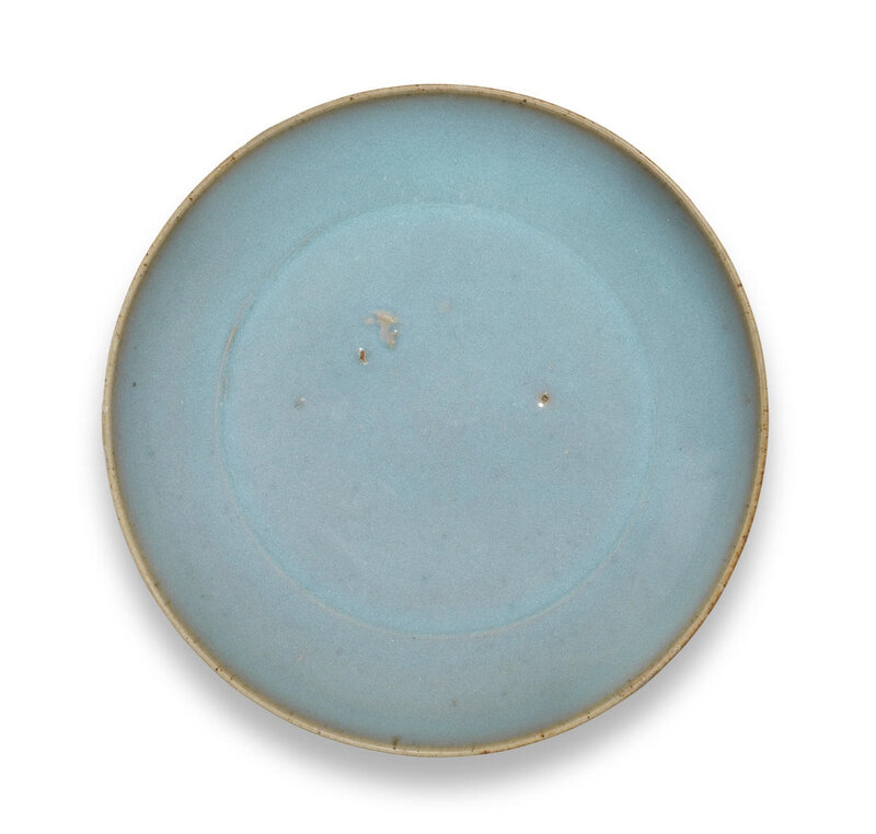 A Junyao lavender-glazed saucer-dish, Northern Song Dynasty (960-1127)