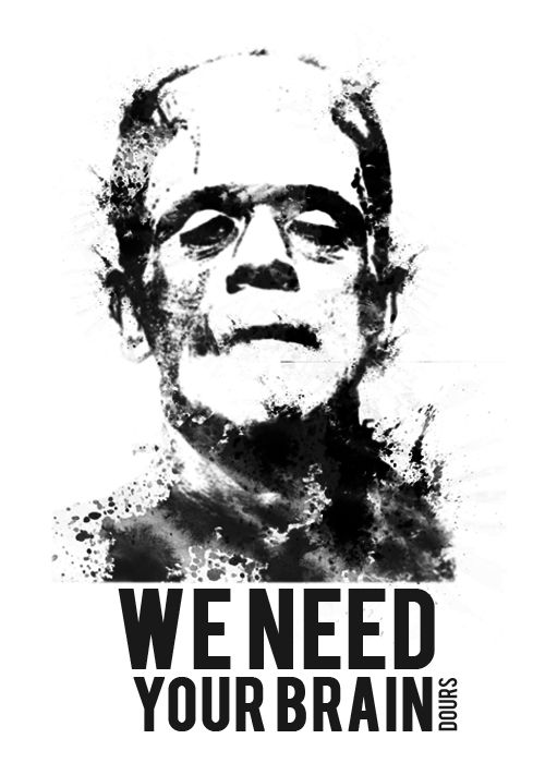 we_need_your_brain_sticker_black