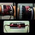 10 bracelet noir/rose
