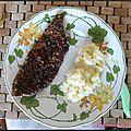 Wiener schnitzel : escalope viennoise