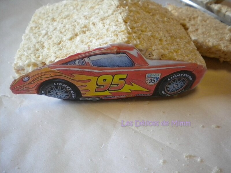 Voiture Flash Mcqueen (Cars) en RKT (tutoriel) 3