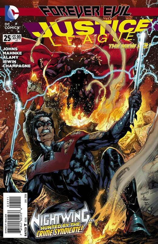 new 52 justice league 25