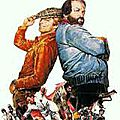 Terence hill and bud spencer among the most aired on french tv!