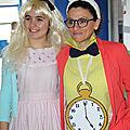 déguisement Alice et lapin