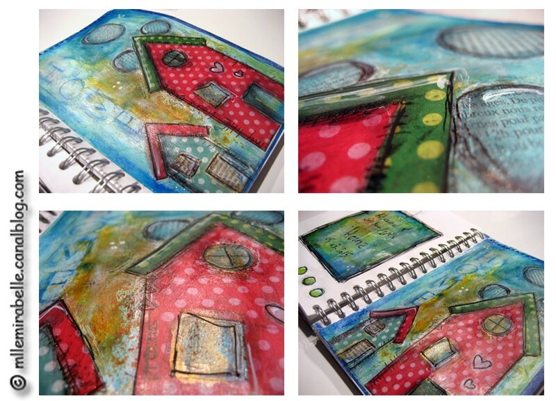 art journal gribouillages