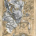 Luc olivier merson (1846-1920), illustration project for the ' trophées' of josé maria de heredia
