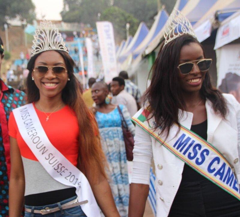 Entre Miss, elles sont solidaires. Caroline est de tout coeur avec Ange Minkata, candidate du Cameroun à Miss Monde 2017.