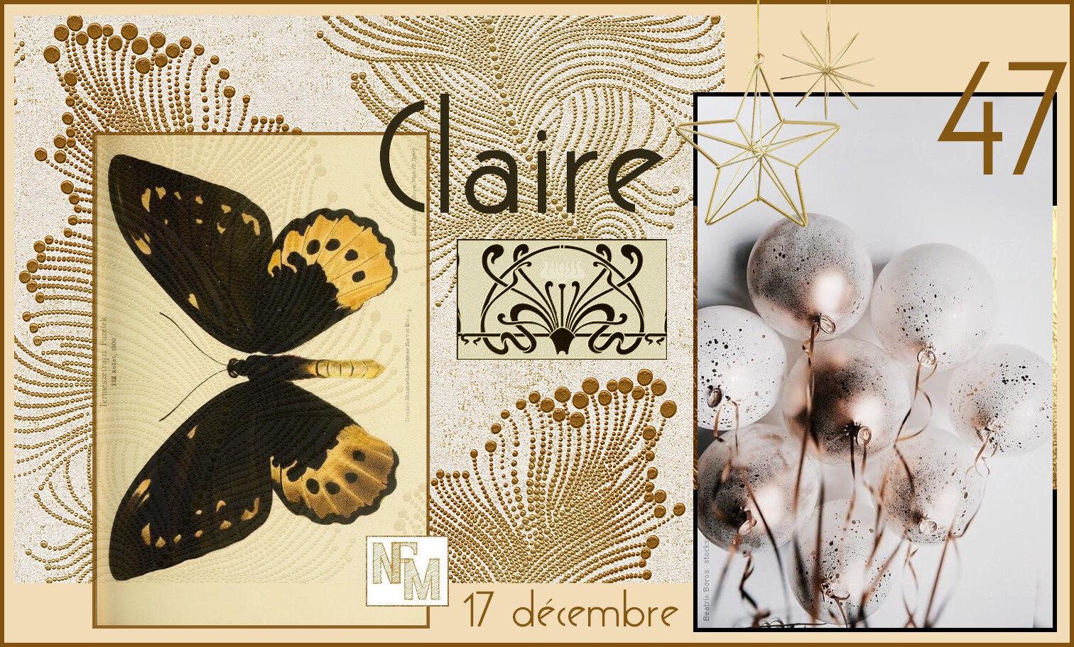 Joyeux Anniversaire Claire Nfm Nath Fait Main
