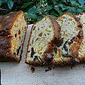Cake abricots secs, figues et pruneaux