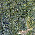 'van gogh, rousseau, corot: in the forest' opens at the van gogh museum
