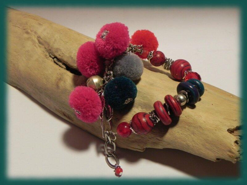 Bracelet rougerose
