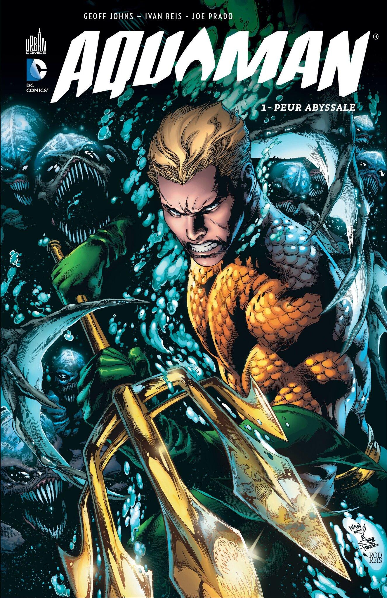 Urban DC Aquaman 1 Peur abyssale