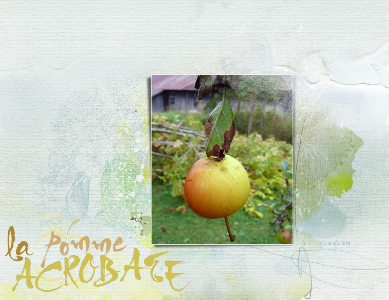 Pomme acrobate