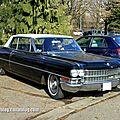 Cadillac series 62 coupé deville 2door hardtop de 1963 (retrorencard mars 2013)