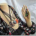 Collection Marimerveille bijoux bohèmes façon murano