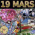 mois de MARS 19