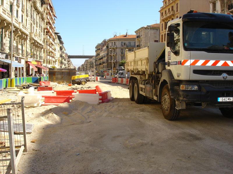 chantier u tramway de nice N° 5 050