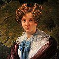 louis hersent-Portrait de Mme Le Doyen