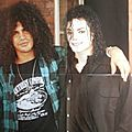 Michael jackson et slash