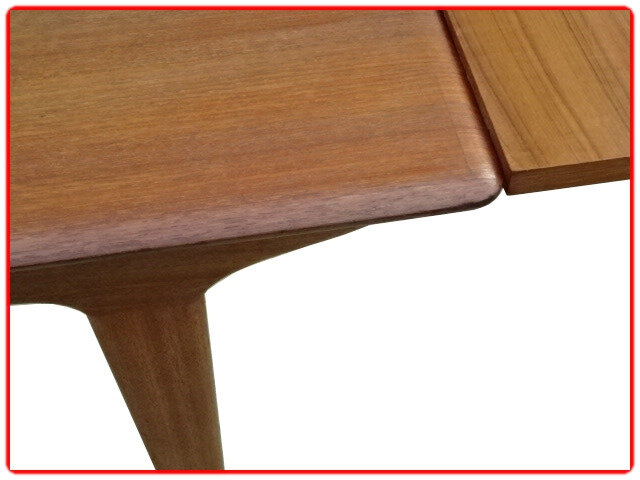 table scandinave 1960 teck